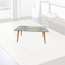 COFFEE TABLE - CLEAR GLASS