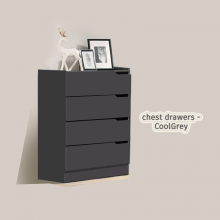 Chest Drawers - CoolGrey