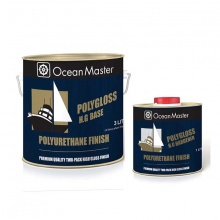 POLYGLOSS POLYURETHANE FINISH CORAL WHITE 4 LTR