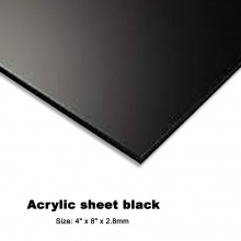ACRYLIC SHEET BLACK 4FT X 8FT X 2.8MM