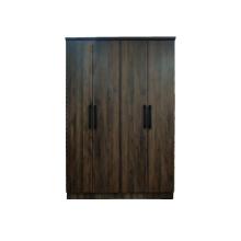 WARDROBE 4 DOOR - COLUMBIA OAK