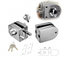 Glass Door Lock Two Side  A1693