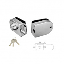 Glass Door Lock One Side A1691