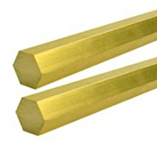 Brass Hexagon Rod 5/8'' x 12ft