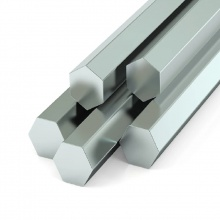 Stainless Steel Hex Rod 2 1/2'' x 6mtr