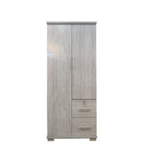 Wardrobe VTF 2 Door - Grey Oak
