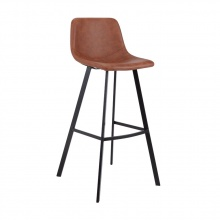 MAEYA BAR STOOL - BROWN
