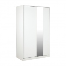 Vito Wardrobe Slide 120 cm- White