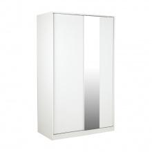 Vito Wardrobe Slide 120 cm- White