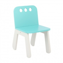 JEFFY KIDS CHAIR - TURQUOISE
