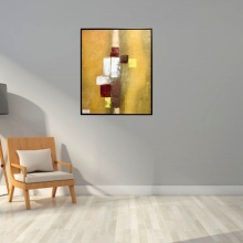 ZMYS-5 PAINTING  CANVAS+WOOD FRAME