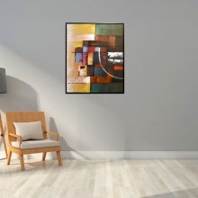 ZMYS-6 PAINTING CANVAS+WOOD FRAME