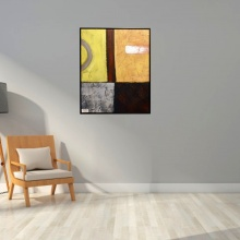 ZMYS-7 PAINTING CANVAS+WOOD FRAME