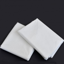 Bed Sheet Plain White 180x270 cm (Single Size)