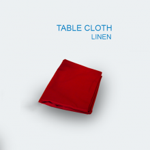 Table Cloth Plain Red