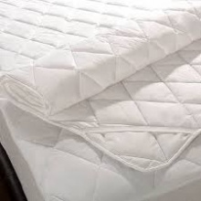 Mattress Protector White 5x6.5ft