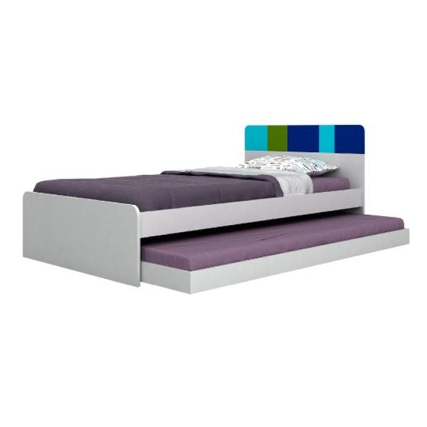 SHADER Bed + Drawer 3 5ft