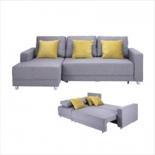 WINNER CASEY FABRIC L-SHAPE SOFA LEFT - LIGHT GREY