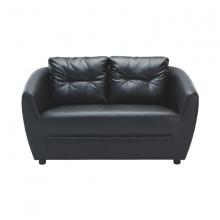 H-MAX PVC 2/S Sofa - Black