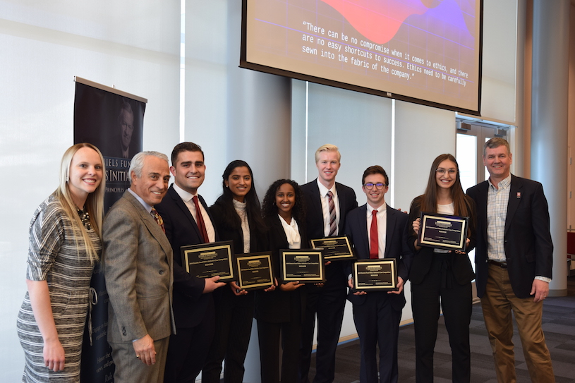 Daniels Fund Ethics Case Competition Winners