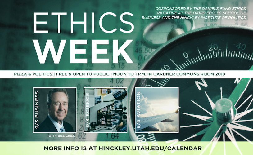 Inaugural Ethics Week events offer insight into real-world situations