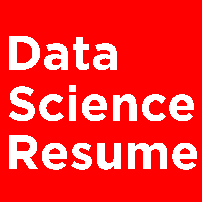 Data Science Resume Logo