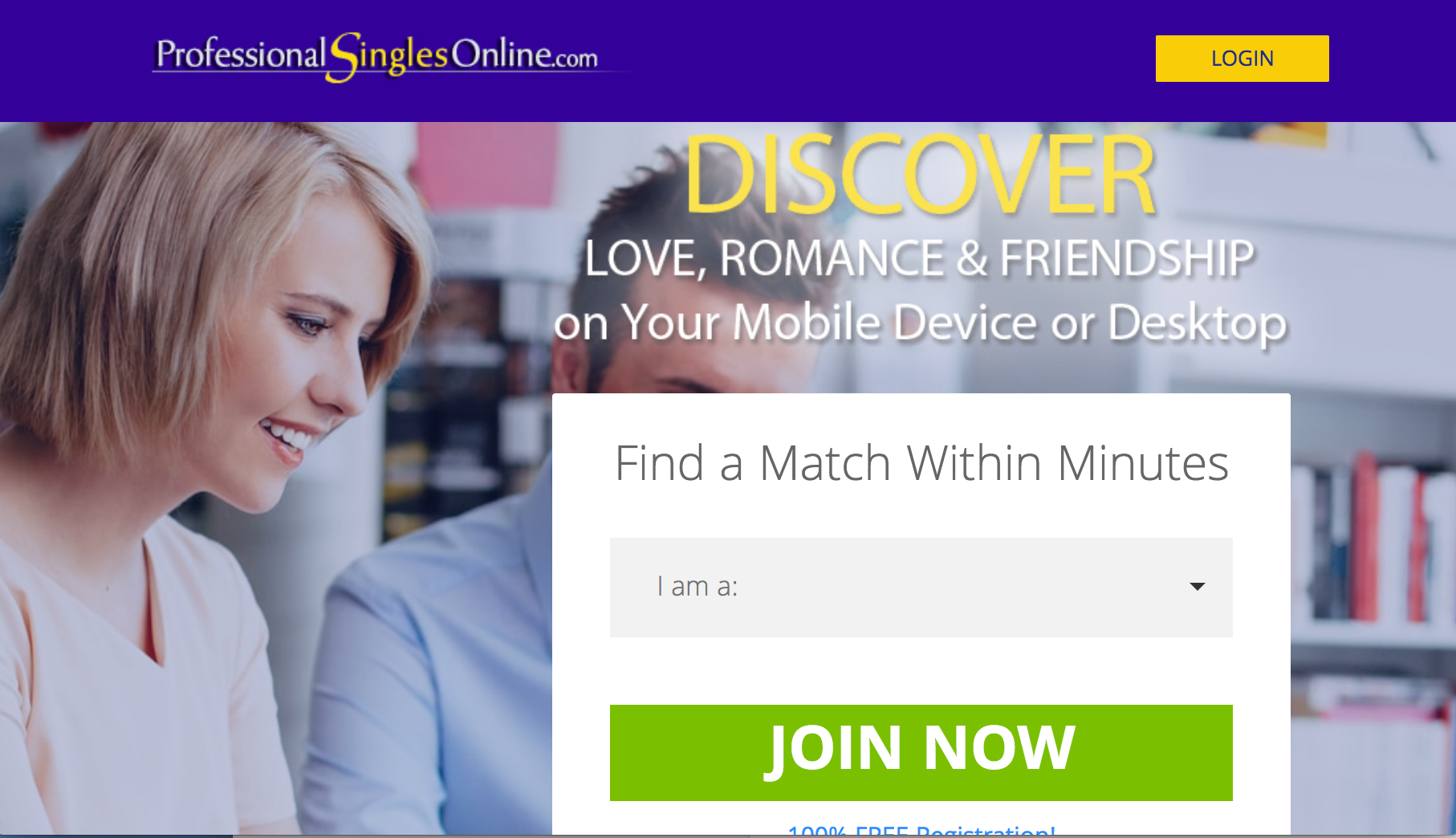 Professional Singles Online