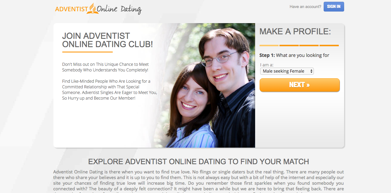 Adventist Online Dating