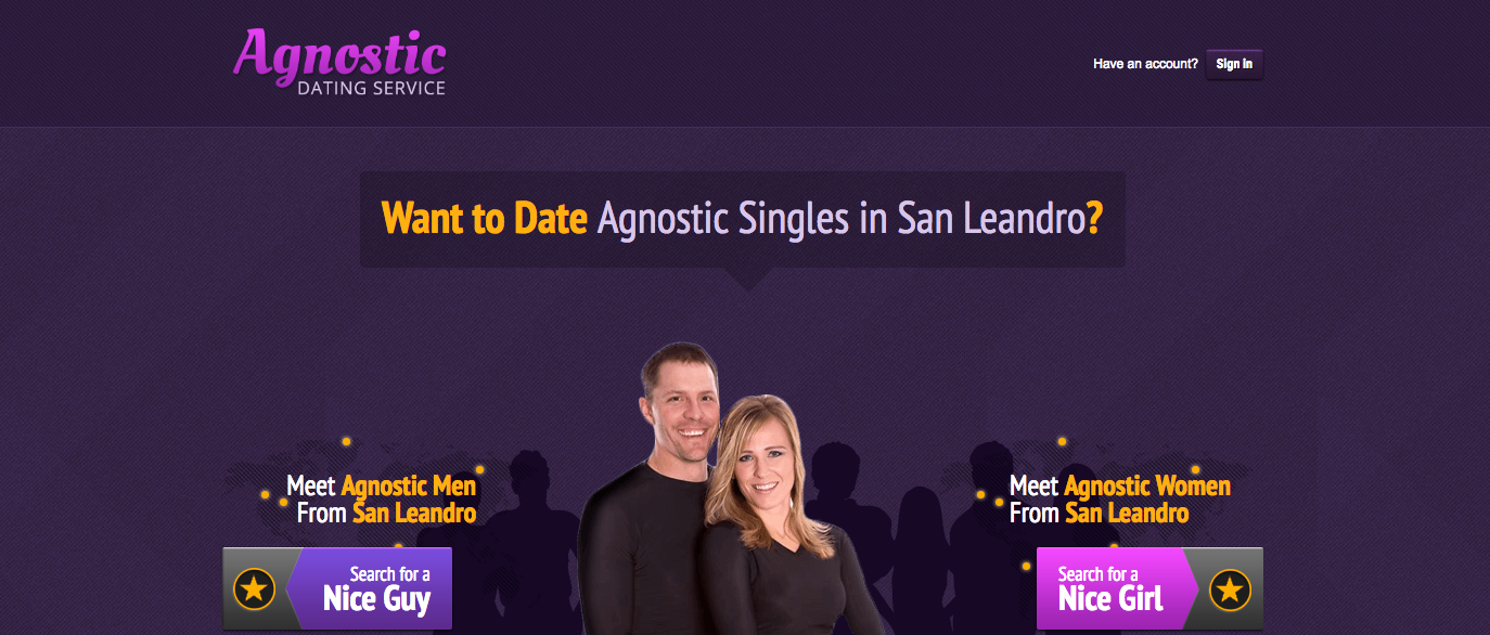 Agnostic Dating Service