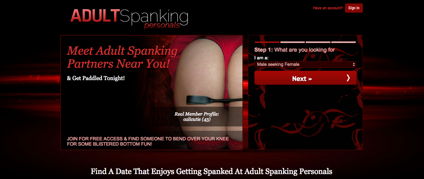 Adult Spanking Personals