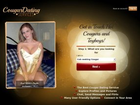 Cougar Dating Services