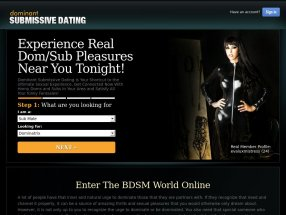Dominant Submissive Dating