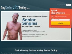 Gay Senior Dating