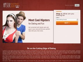 Hipster Dating Site