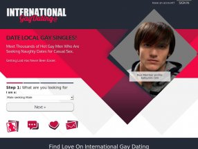International Gay Dating