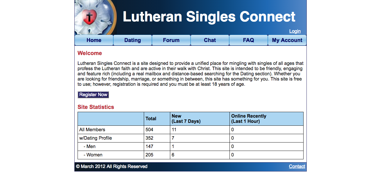Lutheran Singles Connect