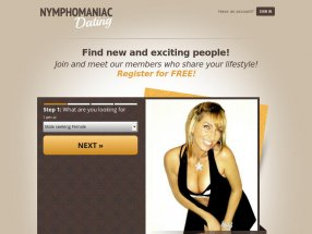 Nymphomaniac Dating