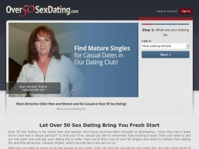 Over 50 Sex Dating