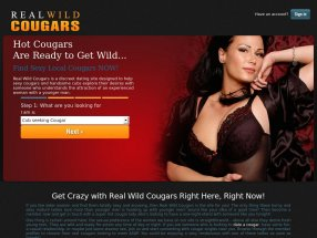 Real Wild Cougars