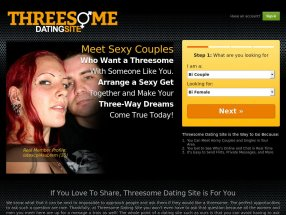 Threesome Dating Site