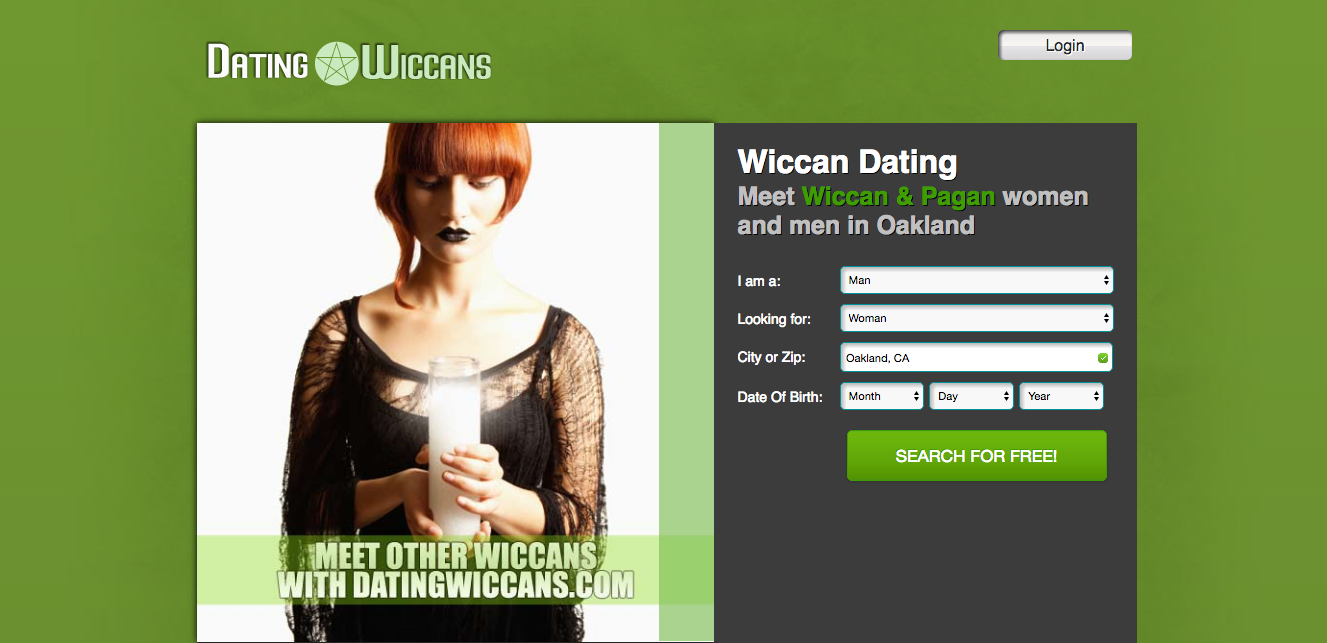 dating a wiccan guy