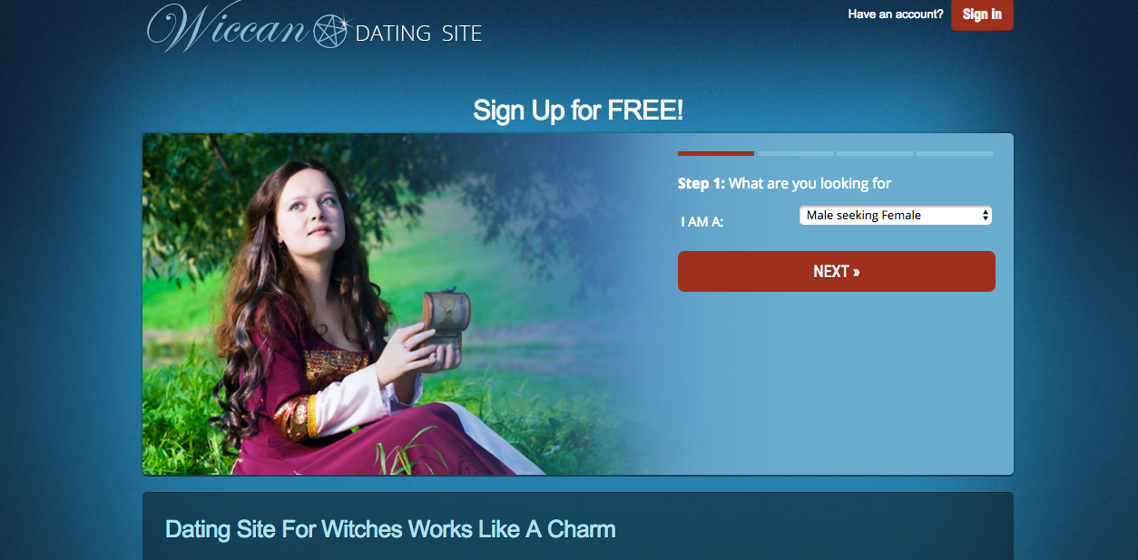 Wiccan Dating Site