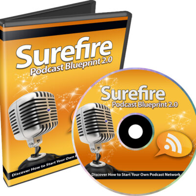 Cover Surefire Podcasting Blueprint
