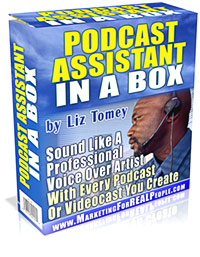 Cover Podcast Assistant in A box