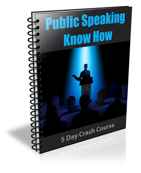 Cover Public Speaking Know How