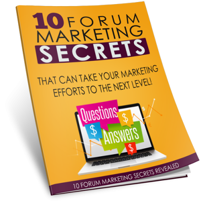 Report on Forum Marketing