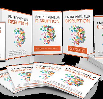 Cover Entrepreneurial Disruption Anvanced