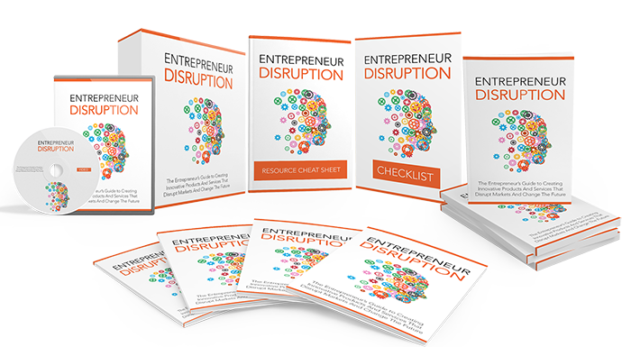 Cover Entrepreneurial Disruption Anvanced