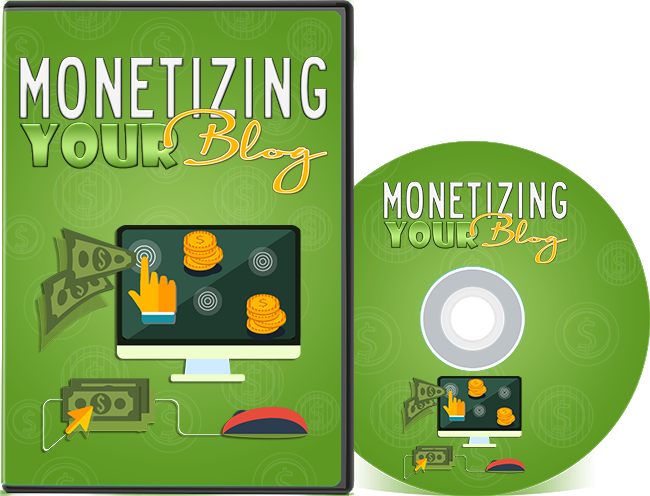 cover Monetizing Your Blog Video Series