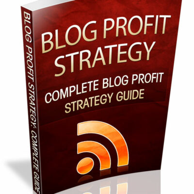 Traiining for profiting with a blog